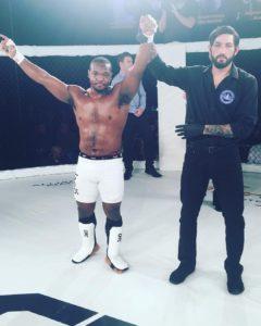 Dan Tolbert MMA Fight
