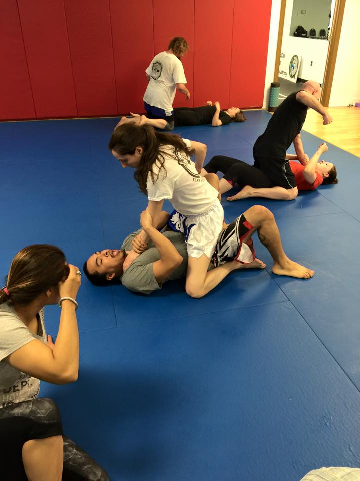 self defense classes BJJ