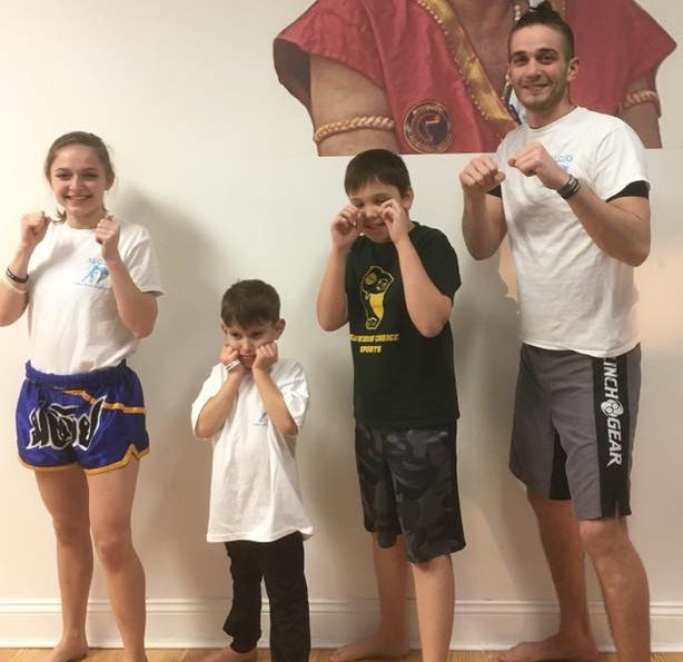 Alex Scafidi Kickboxing instructor