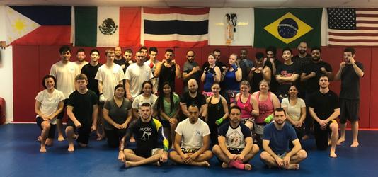 MMA in KOP muay thai