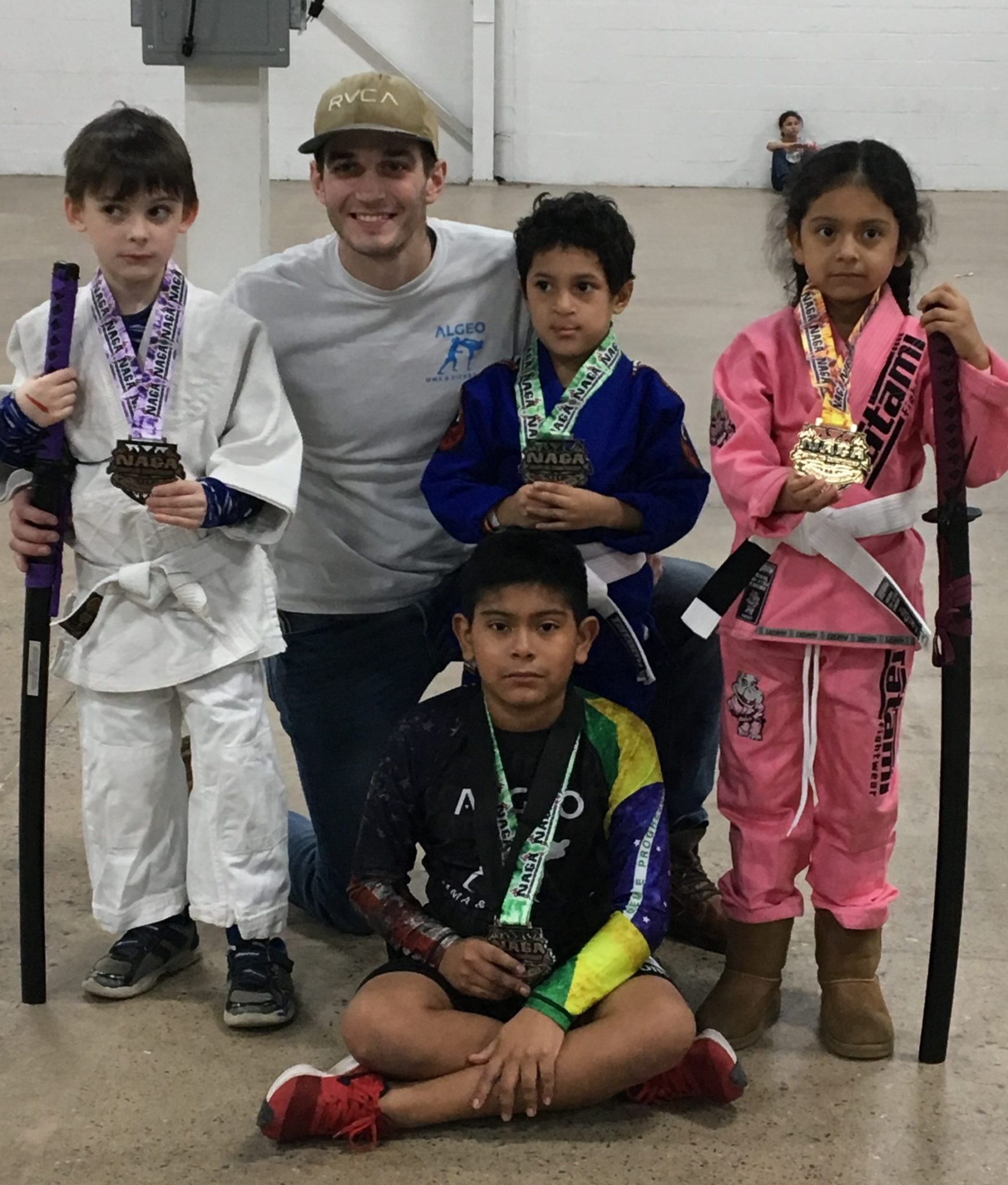 Anthony Brown Kids BJJ instructo