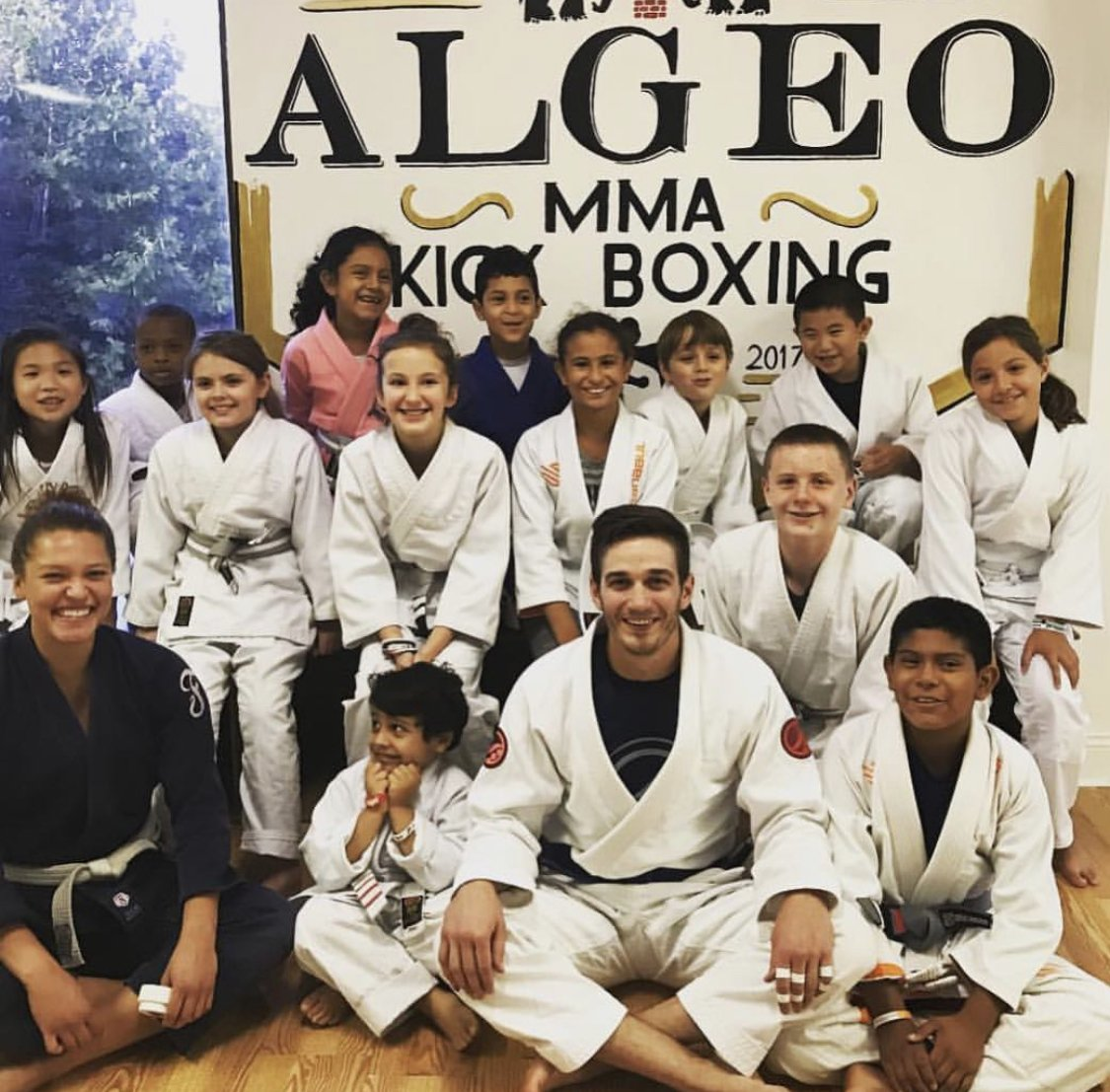 Kids martial arts bjj