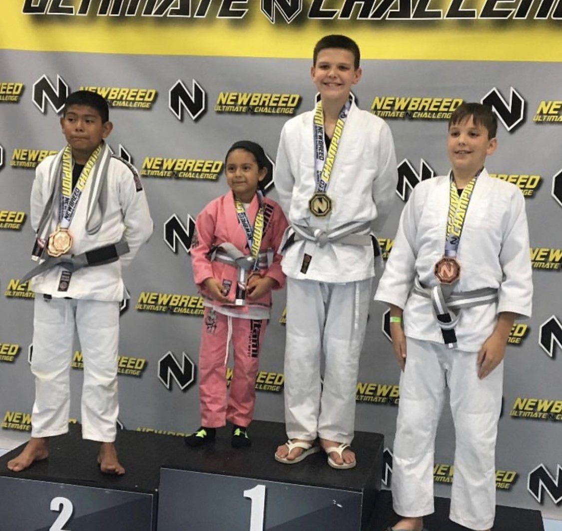 Kiids karate class